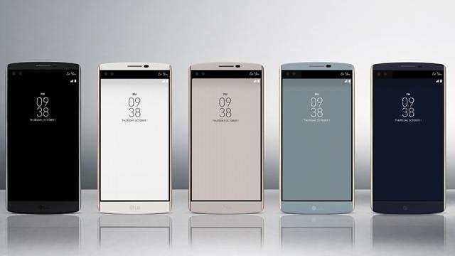 LG V10 İkinci Ekranı ve 2 adet Ön Kamerasıyla Tanıtıldı, Cihaz Türkiye'ye de Gelecek