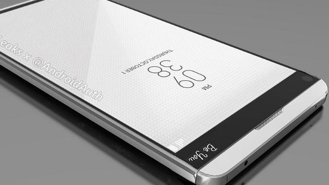 LG V20'nin Gerçek Görüntüleri İnternete Sızdırıldı
