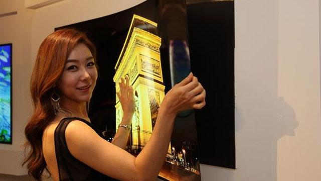 LG'den 1 mm'den İnce Duvara Yapıştırılabilen OLED TV