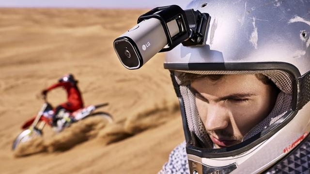 LG'nin Yeni Aksiyon Kamerası Wi-Fi ya da Telefon Olmadan Canlı Yayın Yapıyor