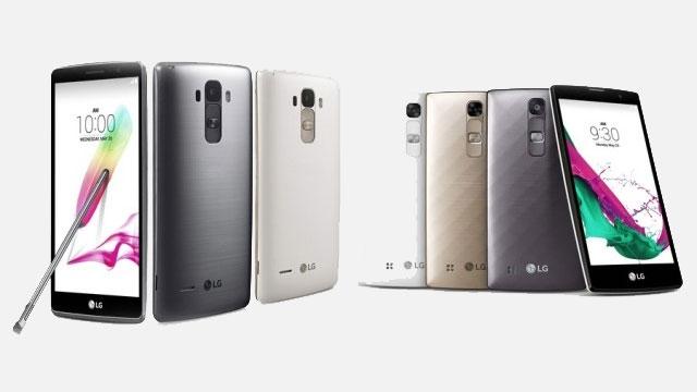 LG G4 Fırtınası Devam Ediyor: LG G4 Stylus ve LG G4c Resmen Duyuruldu