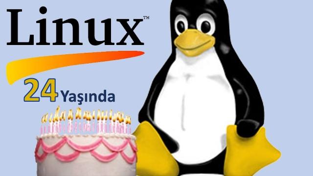 Nice Başarılı Yıllara, Linux 24 Yaşına Bastı