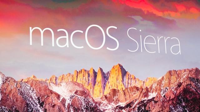 Apple'ın Yeni İşletim Sistemi MacOS Sierra'nın Çıkış Tarihi ve Özellikleri