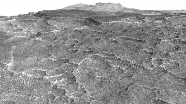 NASA Mars'ta Dev Bir Buz Gölü Bulunduğunu Açıkladı