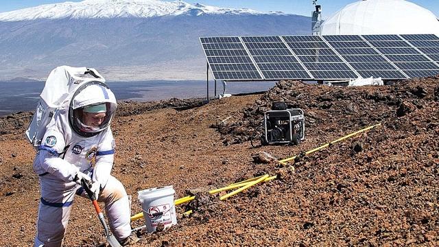 Hawaii Adasında 2.500 Metrede Mars Tecrübesi Yaşadılar