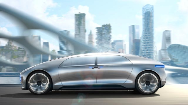 Yapay Zeka ve Lazer Teknolojisi Ürünü: Mercedes Benz F 015