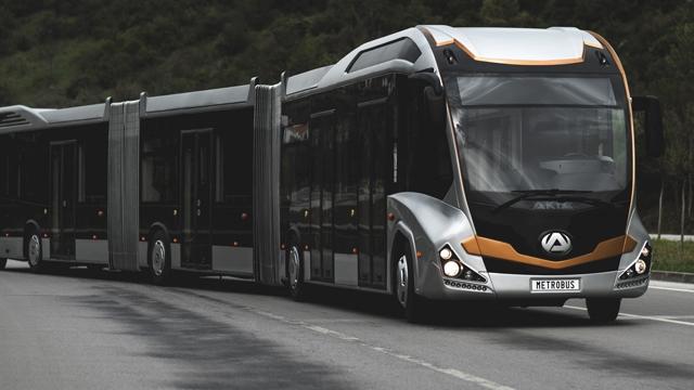 Dünyanın En Büyük Metrobüs'ü Bursa'da Üretildi