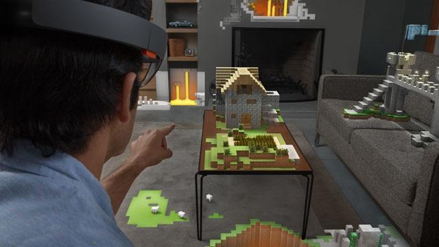 Microsoft'un MineCraft'ı Hololens Projesi İçin Satın Aldığı Açıklandı