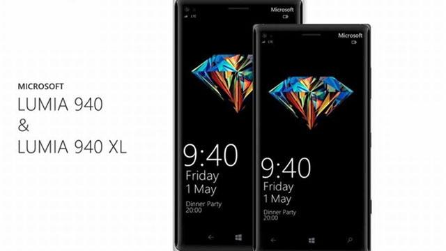 Microsoft Lumia 940 ve 940 XL Tasarımları ve Özellikleri Göz Alıcı Görünüyor