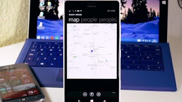 Microsoft'tan Windows Phone'a Özel Arkadaş Bulma Uygulaması: Buddy Aware
