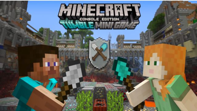 Minecraft'tan Konsol Oyuncularına Minik Ücretsiz Bir Sürpriz: Tumble Mini Game