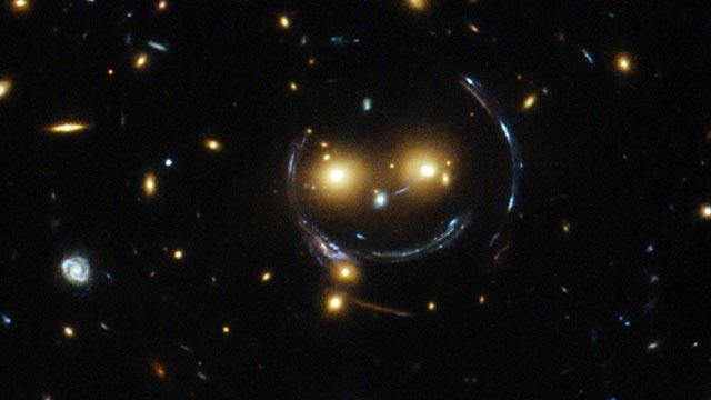 NASA Uzayda Bir Smiley Görüntüledi