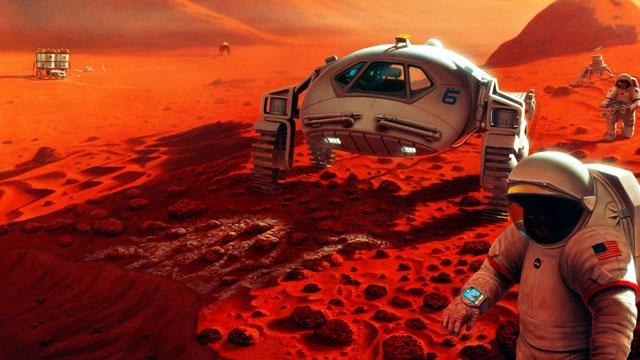 NASA'nın Mars Trek Web Sayfası, Mars'a Sanal Bir Seyahati Mümkün Kılıyor
