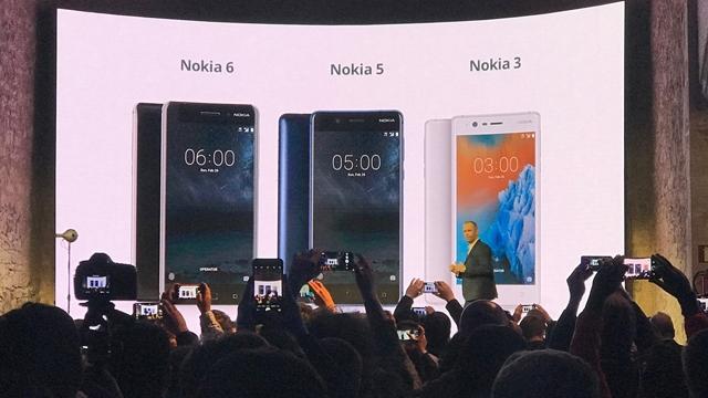 Nokia 6, Nokia 5 ve Nokia 3 Çıkış Tarihleri, Fiyatları ve Teknik Özellikleri