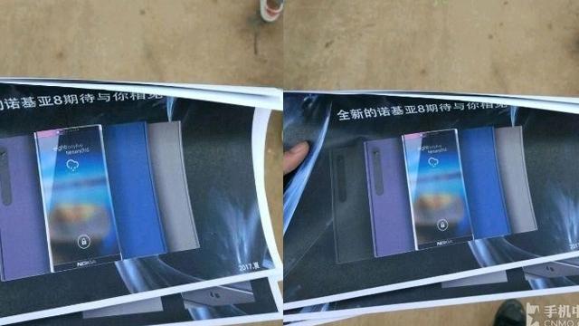 Nokia 8 Posterleri Sızdırıldı