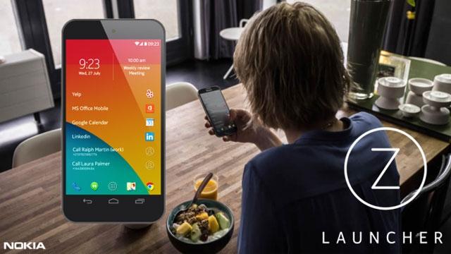 Nokia Z Launcher Muhteşem Özelliklerle Güncellendi