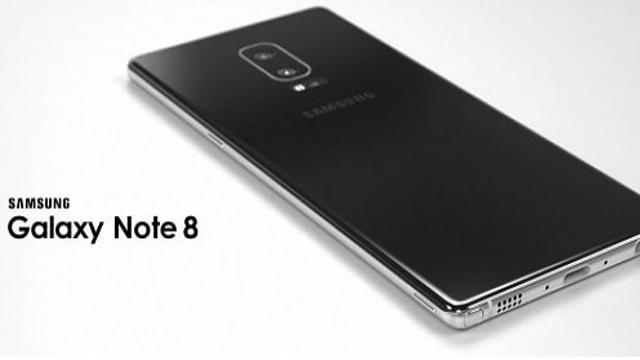 Samsung Galaxy Note 8 Sırtında 2 Adet Kamerayla Gelebilir