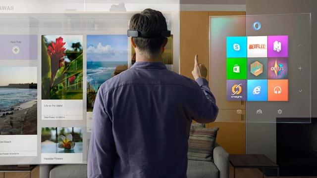 Microsoft Takvim ve Outlook Uygulamaları HoloLens'e Geldi