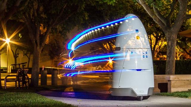 Park Alanı Robotu Bir Sürücüden Dayak Yedi!