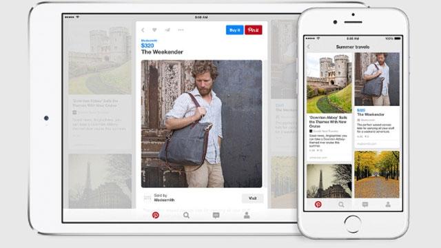 Pinterest ve Instagram'a Satın Al Düğmeleri Ekleniyor