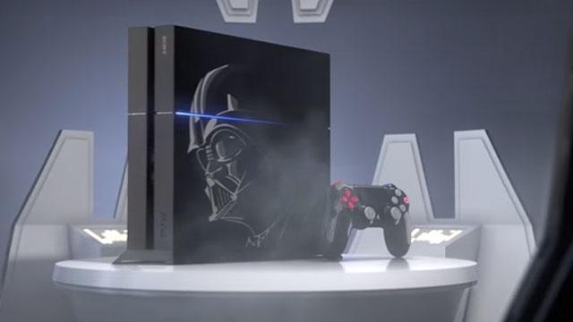 Star Wars Battlefront İçin Özel Bir PlayStation 4 Tasarlandı ve Duyuruldu