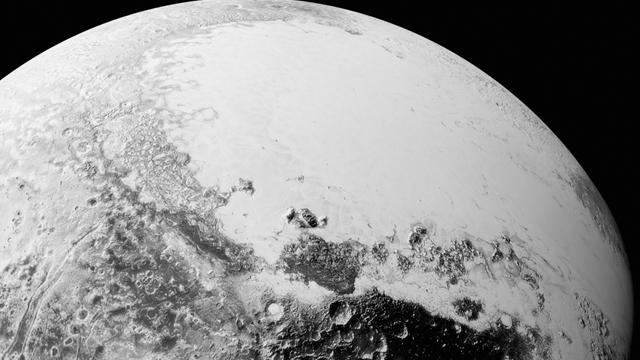 NASA Buz Cehennemi Plüton'dan Çektiği Son Görüntüleri Yayınladı