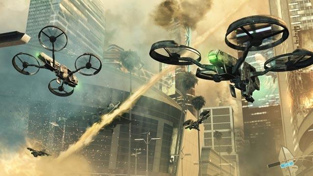 Gösterilerde Polis Droneları Havadan Biber Gazı Sıkacak