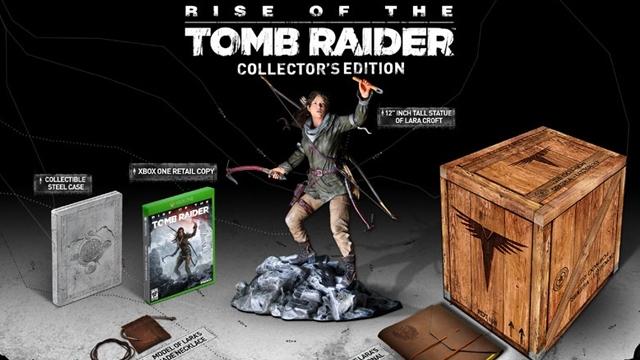 Rise of the Tomb Raider Xbox Koleksiyon Paketi Hayranlarının Aklını Alacak
