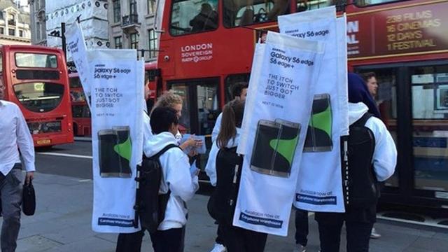 Samsung Apple'ın iPhone 6s Satışlarını Nasıl Trolledi