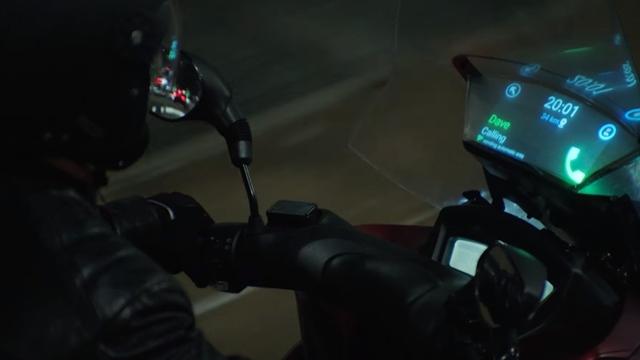 Samsung Akıllı Motosiklet Ön Paneli Smart Windshield'i Tanıttı