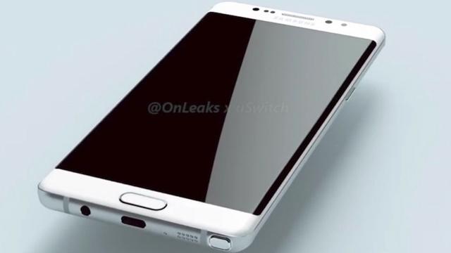 Samsung Galaxy Note 6 Tanıtım Tarihi Belli Oldu ve Tasarımı İnternete Sızdı
