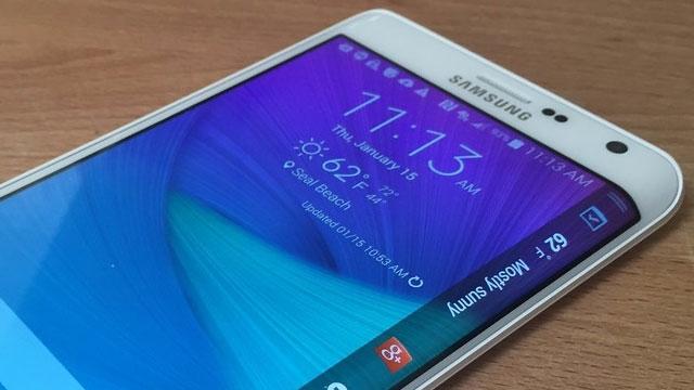 İşte Samsung Galaxy S6 Edge'in Eğimli Ekran Uygulamaları