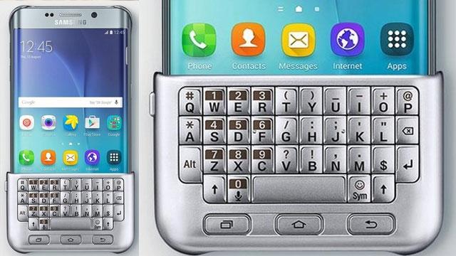 Samsung Galaxy S6 Edge Plus İçin Klavye Kılıf da Geliyor