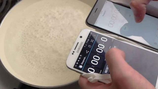 Samsung S6 ve iPhone 6 Üzerinde 'Haşlama' Testi de Yapıldı