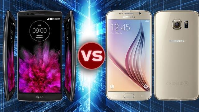 Samsung Galaxy S6 ve LG G Flex2 Karşılaştırması