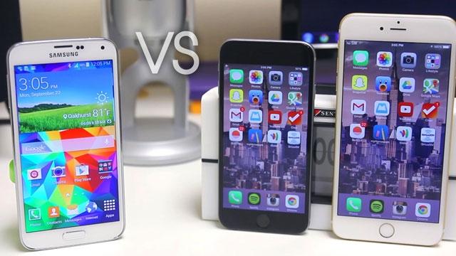 Samsung Galaxy 6 Serisi, iPhone 6 Serisiyle Yeni Reklamlarında Dalga Geçiyor