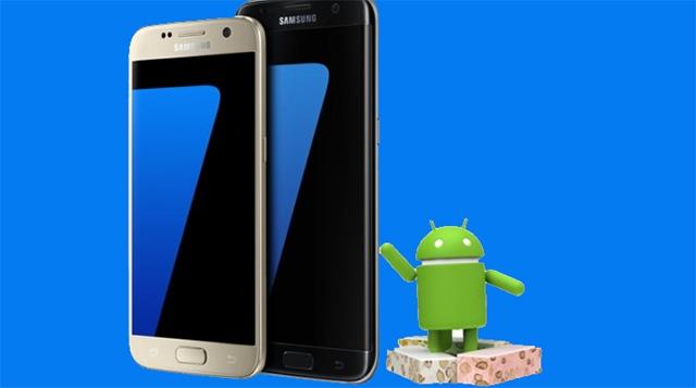 Samsung Galaxy S7 ve S7 Edge için Android 7.0 Güncellemesi Göz Kırpıyor
