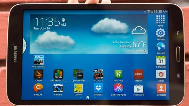 Küçük Bütçelere Büyük Ekran Samsung Galaxy Tablet A