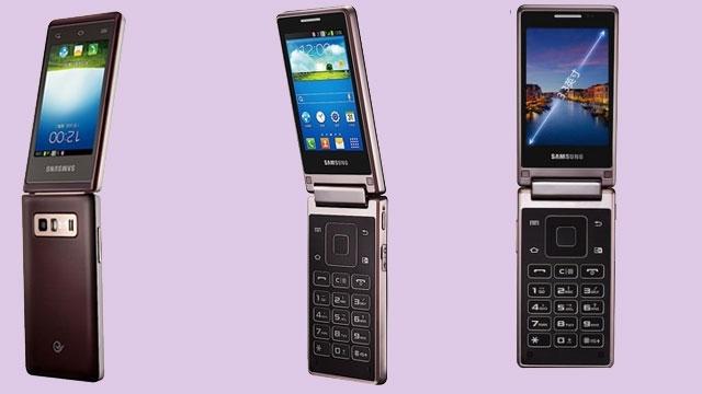 Samsung'dan Kapaklı Android Telefon mu Geliyor?