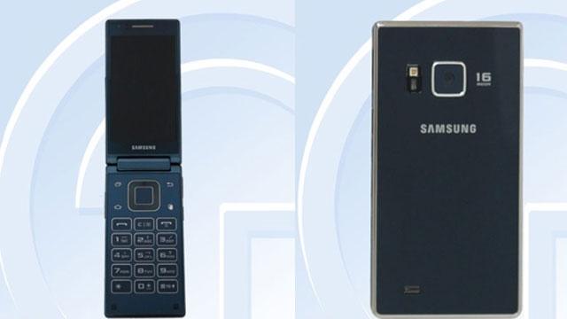 Snapdragon Takviyeli Samsung Kapaklı Android Telefon Göründü