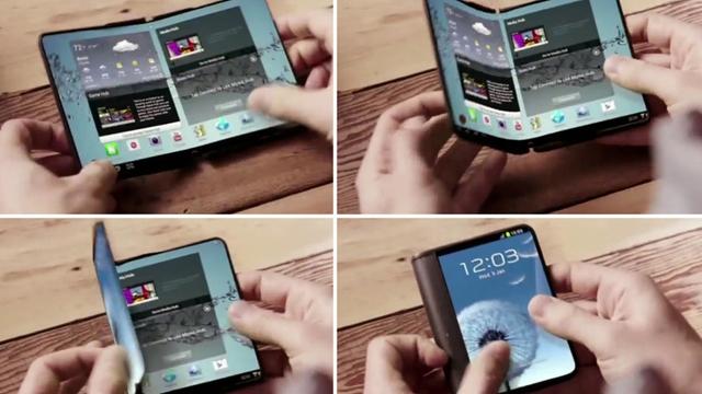 Samsung 2016 Yılının Ocak Ayında İlk Katlanabilir Ekranlı Telefonunu Tanıtacak