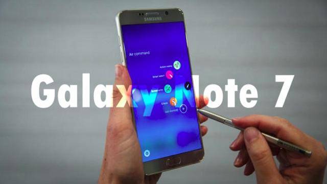 Samsung Galaxy Note 7'nin Fiyatı Sızdırıldı
