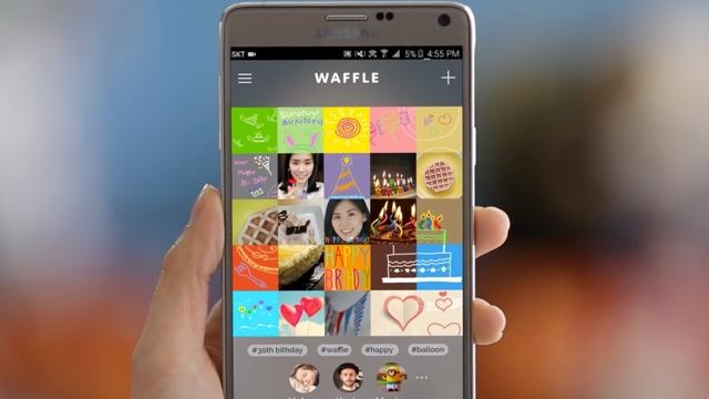 Samsung Dünyanın Belki de En Manasız Sosyal Medya Uygulaması Waffle'ı Duyurdu
