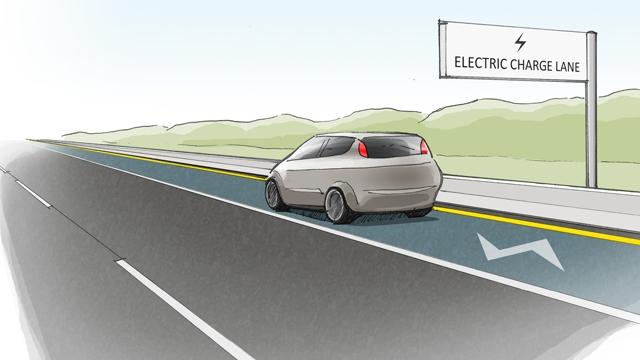 Kendini Onarıp, Elektrikli Araçları da Şarj Edebilen Yollar Yapılıyor