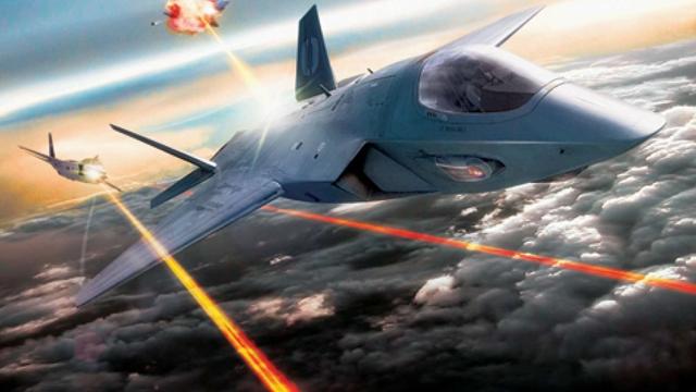 Savaş Uçakları Artık Yıkıcı Lazer Silahları Taşıyacaklar