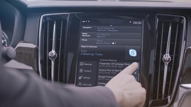 Microsoft Skype Artık Otomobillerde de Kullanılacak