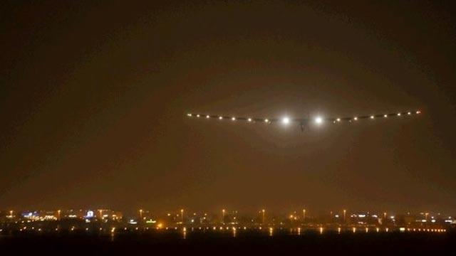 Solar Impulse 2 Hindistan'a Başarıyla İndi