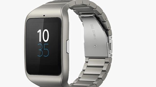 Sony SmartWatch Paslanmaz Çelik Kayışlarla Geliyor