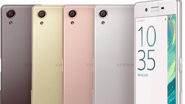 Sony Xperia X Serileri Tanıtıldı