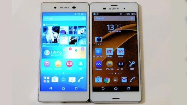 Sony Xperia Z4 Compact ve Xperia Z4 Ultra Göründü